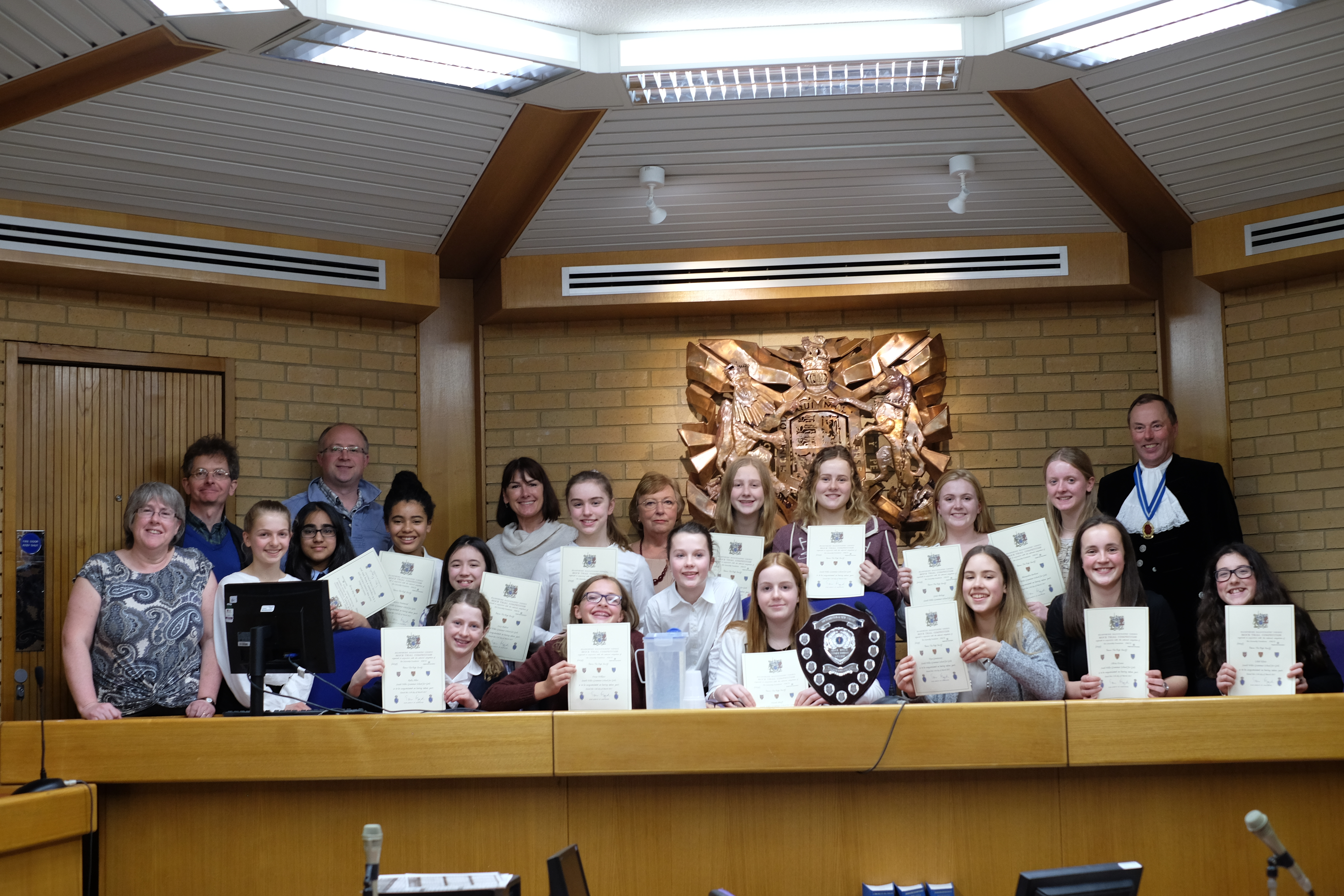 Mock Trials competition Southampton Marth 11th 2017